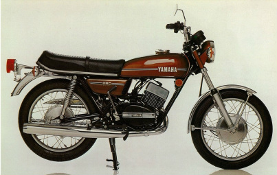 The early RD250... Pic: Yamaha