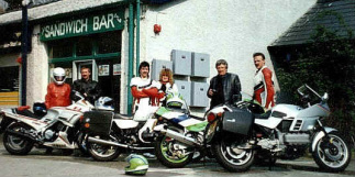 1990 and out with some mates...Image: S Parry.