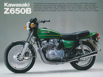 The great Z650B - one of the best early 4's. Image: Kawasaki